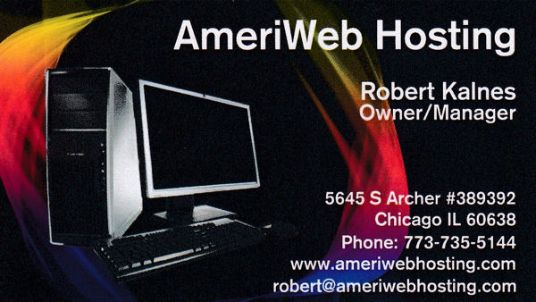 AmeriWeb Hosting provides hosting, design and marketing services. Call or email for a free catalog.